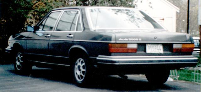 1981 audi 5000s diesel